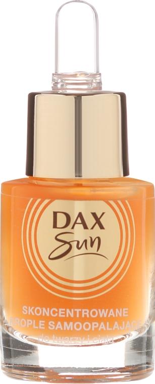 Concentrato autoabbronzante - Dax Sun Self-tanning Concentrated Drops — foto N2