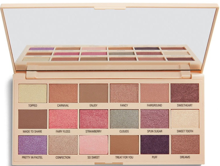 Palette ombretti - I Heart Revolution Cotton Candy Chocolate Eyeshadow Palette