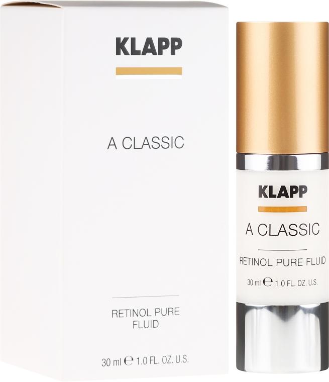 "Emulsione viso ""Retinolo puro"" - Klapp A Classic Retinol Pure Serum"