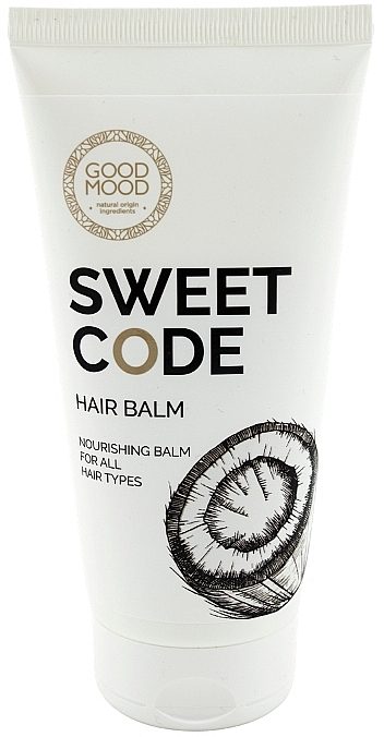 Balsamo nutriente per capelli all'olio di cocco - Good Mood Sweet Code Hair Balm — foto N1
