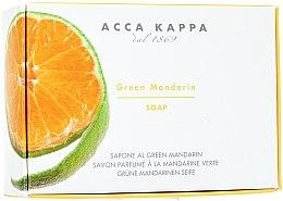 Profumi e cosmetici Sapone Crema e Fragola - Acca Kappa Green Mandarin Toilet Soap