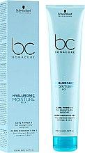 Profumi e cosmetici Crema idratante per capelli ricci - Schwarzkopf Professional Bonacure Hyaluronic Moisture Kick Curl Power 5