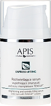 Profumi e cosmetici Siero contorno occhi - APIS Professional Express Lifting Brightening Filling Wrinkle Serum With Tens UP