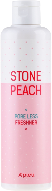 Tonico - A'pieu Stone Peach Pore Less Freshner — foto N1