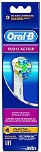 Profumi e cosmetici Ugello sostituibile per spazzolino elettrico Floss Action EB 25, 4 pz - Oral-B