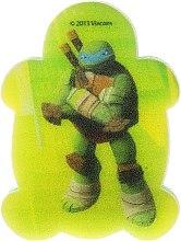 "Profumi e cosmetici Spugna da bagno per bambini ""Ninja Turtles"" Leonardo 6 - Suavipiel Turtles Bath Sponge"