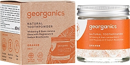 Profumi e cosmetici Polvere naturale per lo sbiancamento dei denti - Georganics Red Mandarin Natural Toothpowder