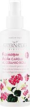 Profumi e cosmetici Spray per capelli - MaterNatura Acidic Hair Rinse with Rose Geranium