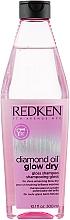 Profumi e cosmetici Shampoo - Redken Diamond Oil Glow Dry
