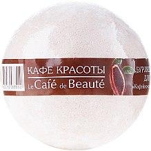 """Profumi e cosmetici Bomba da bagno """"Sorbetto al caffè e cioccolato"""" - Le Cafe de Beaute Bubble Ball Bath"""