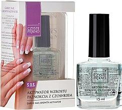 Profumi e cosmetici Attivatore per la crescita delle unghie - Czyste Piękno Garlic Nail Growth Activator