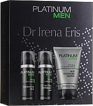 Profumi e cosmetici Set - Dr. Irena Eris Platinum Men (shm/125ml + ash/balm/50ml + cr/50ml)