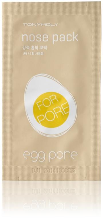 Cerotti per purifcare i punti neri del naso - Tony Moly Egg Pore Nose Pack