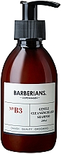 Profumi e cosmetici Shampoo per barba - Barberians. №B3 Cleansing Beard Shampoo