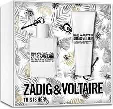 Profumi e cosmetici Zadig & Voltaire This is Her - Set (edp/50ml+b/lot/100ml)