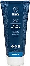 "Profumi e cosmetici Shampoo per capelli ""Neem"" - Khadi Shampoo Neem Balance"
