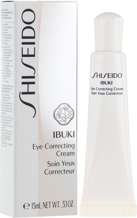 Crema contorno occhi, canti-affaticamento della pelle - Shiseido Ibuki Eye Correcting Cream — foto N1
