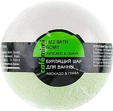 """Profumi e cosmetici Bomba da bagno """"Avocado e guava"""" - Cafe Mimi Bubble Ball Bath"""