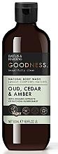 Profumi e cosmetici Gel doccia - Baylis & Harding Goodness Oud, Cedar & Amber Body Wash