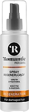Profumi e cosmetici Spray rivitalizzante per capelli - Romantic Professional