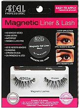 Profumi e cosmetici Set - Magnetic Lash & Liner Lash Wispies (eye/liner/2g + lashes/2pc)