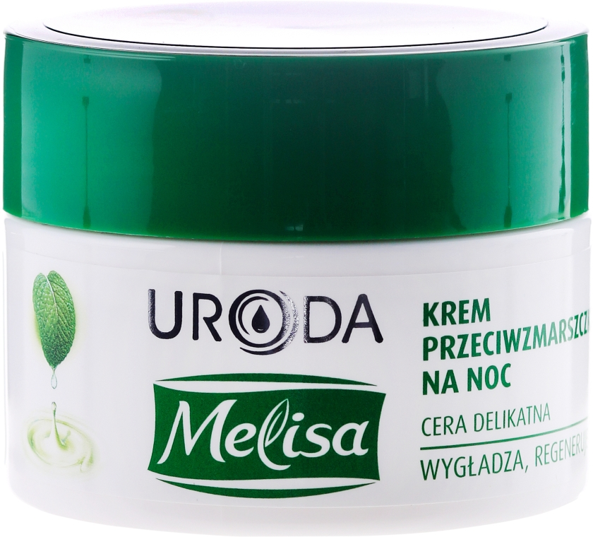 Crema da notte antirughe - Uroda Melisa Face Cream