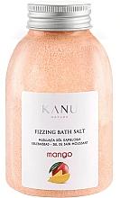 "Profumi e cosmetici Sale da bagno frizzante ""Mango"" - Kanu Nature Mango Fizzing Bath Salt"
