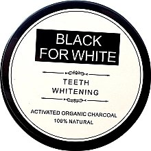 Profumi e cosmetici Polvere sbiancante per denti, con carbone attivo - Biomika Black For White Teeth Whitening