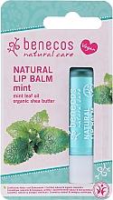 """Profumi e cosmetici Balsamo labbra """"Mentolo"""" - Benecos Natural Care Lip Balm Mint"""