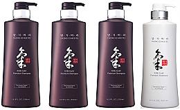 Set - Daeng Gi Meo Ri Ki Gold Hair Care Set (shm/500ml + shm/500ml + shm/500ml + cond/500ml + shm/70ml + shm/70ml + cond/70ml) — foto N2