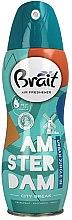 "Profumi e cosmetici Deodorante per ambienti ""City Break -Amsterdam"" - Brait Dry Air"