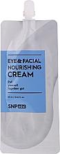 Profumi e cosmetici Crema nutriente per contorno occhi e viso - SNP Mini Eye & Facial Nourishing Cream (mini)