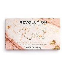 Palette illuminanti - Makeup Revolution Roxxsaurus Roxi Highlight & Contour Palette — foto N5