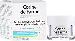 Profumi e cosmetici Crema-gel idratante rinfrescante per pelli normali e miste - Corine de Farme