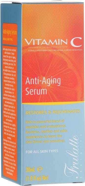 Siero viso alla vitamina C. - Frulatte Vitamin C Anti-Aging Face Serum