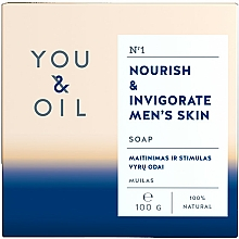Profumi e cosmetici Sapone nutriente per uomo - You & Oil Nourish & Invigorate Men