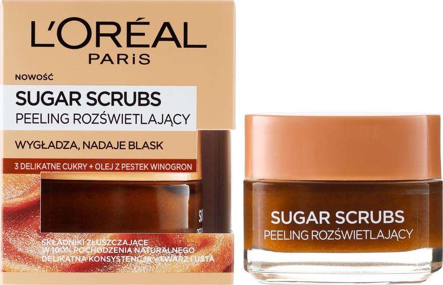 Scrub viso allo zucchero - L'Oreal Paris Sugar Scrubs