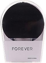 Profumi e cosmetici Spazzola per la pulizia del viso, nera - Forever Lina Facial Cleansing Brush Black