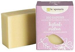 Profumi e cosmetici Sapone con estratto di tiglio e malva - La Saponaria Linden and Mallow Soap