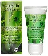 Profumi e cosmetici Crema-gel viso - Naturalia Aloe Vera Facial Care Cream-Gel