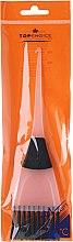 Profumi e cosmetici Spazzola per tintura capelli, 65002, bianco-nero - Top Choice