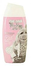 Profumi e cosmetici Shampoo-balsamo per bambini - Corsair The Diva Miss Piggy 2in1 Shampoo&Conditioner