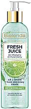 Profumi e cosmetici Gel micellare effetto detox - Bielenda Fresh Juice Detox Lime
