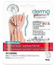 """Profumi e cosmetici Trattamento unghie e cuticole """"SOS Rigenerazione e rafforzamento"""" - Dermo Pharma Skin Repair Expert S.O.S. Regenerating& Strengthening Fingernails Mask"""