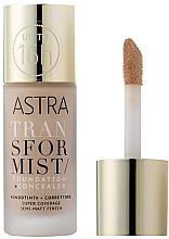 Profumi e cosmetici Fondotinta + correttore - Astra Transformist Foundation + Concealer