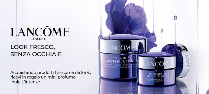 Acquistando prodotti Lancôme da 56 €, ricevi in regalo un mini profumo Idole L'Intense