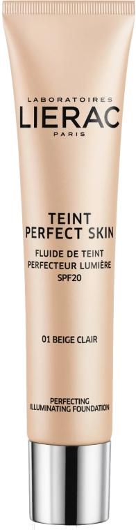 Fondotinta - Lierac Teint Perfect Skin Illuminating Fluid Spf 20