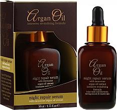 Profumi e cosmetici Siero viso rigenerante, da notte - Xpel Marketing Ltd Argan Oil Night Repair Serum