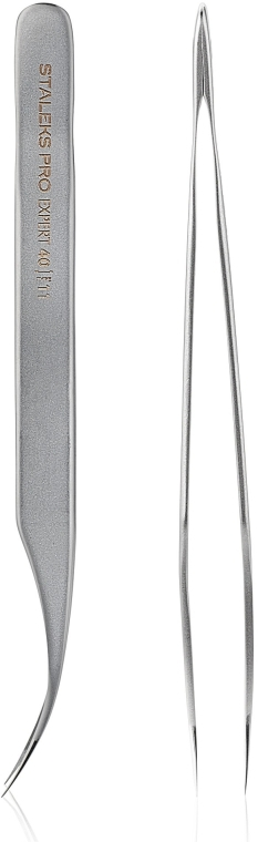 Pinzette professionali per ciglia - Staleks Expert 40 Type 11