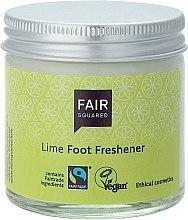 """Profumi e cosmetici Crema per piedi """"Lime"""" - Fair Squared Lime Foot Freshener"""